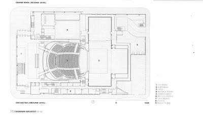 Schmitt architects seasons centretoronto opera house2007 for Toronto house plans