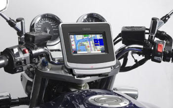 GPS on bicycle & motorcycle
