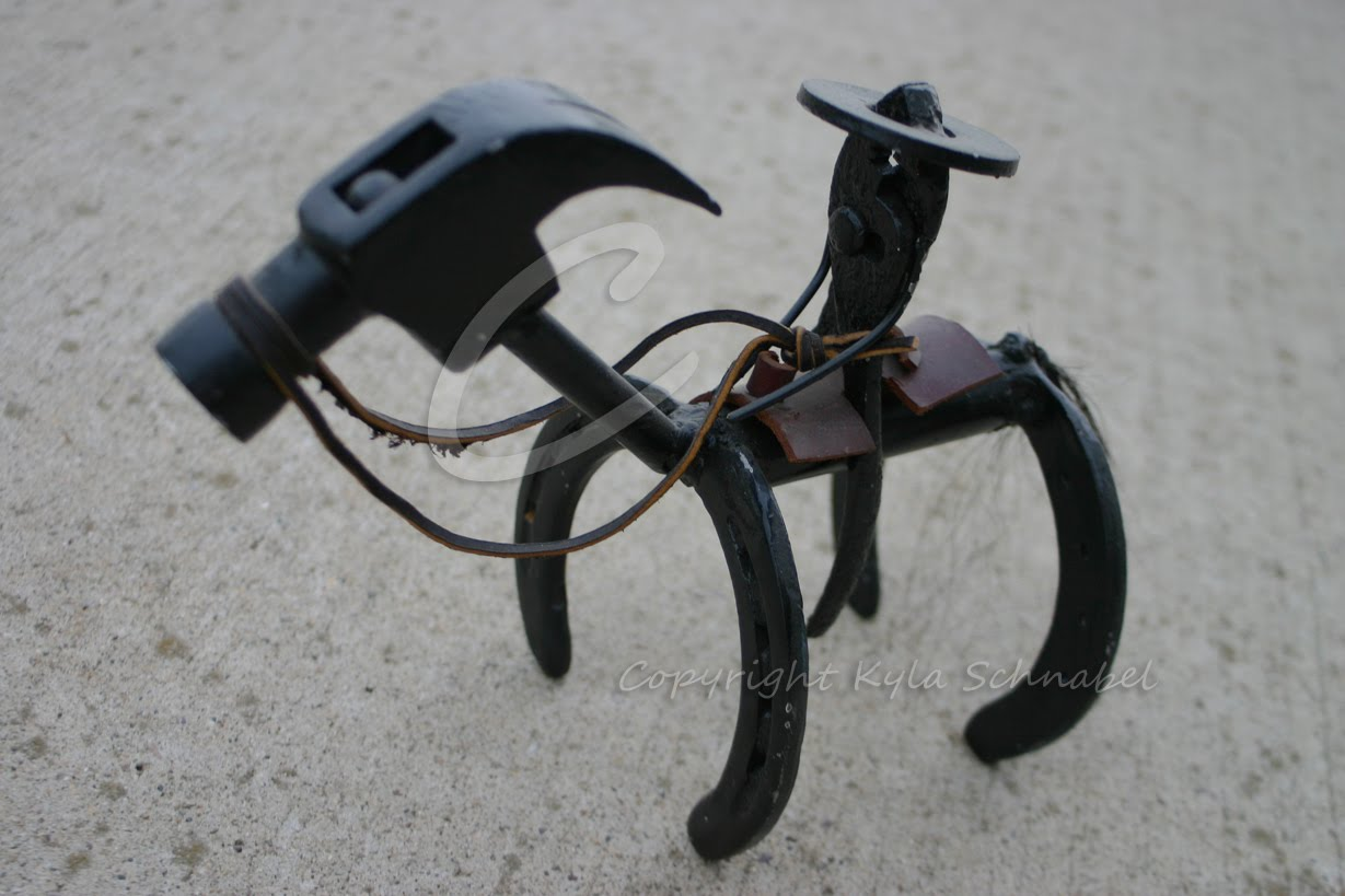 Crazy things we south dakotans come up with for Things made from horseshoes