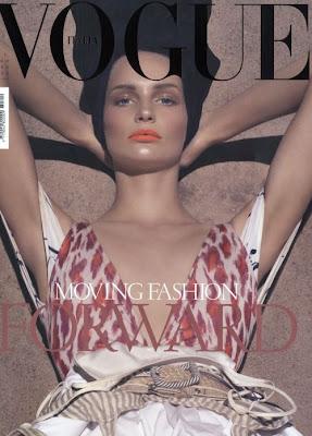 Cover… Vogue Italia December 08