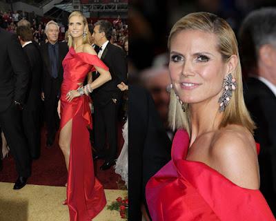 Los Oscars 09 – Heidi Klum vs Amanda Seyfried