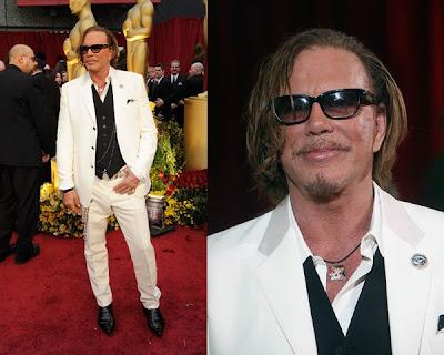 Oscars 2009 – Mickey Rourke antes y después