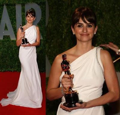 Oscars 2009 – Penélope Cruz en la fiesta de Vanity Fair