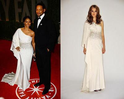 Oscars 2009 – Will Smith y mujer en la fiesta del Vanity Fair