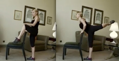 tracy anderson leg/butt workout