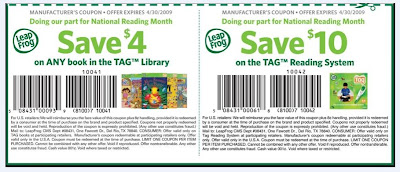 Leapfrog printable coupons