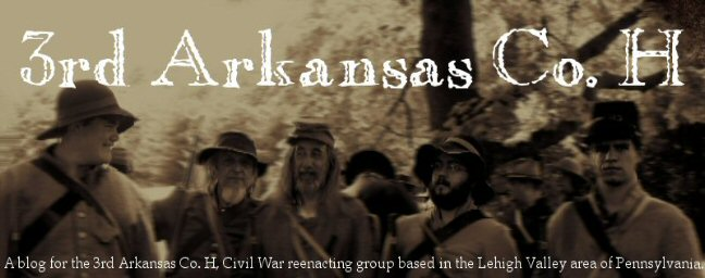 3rd Arkansas Co. H Reenacting Group