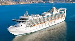 Navio STAR PRINCESS - Embarques Valparaiso e Buenos Aires  2012 - 2013