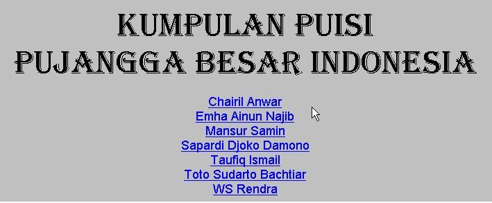 Bahasa Indonesia Sdn Panyarang