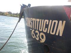 Proa de barco Constitución