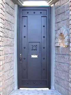 Herreria moderna puertas for Puertas herreria exteriores