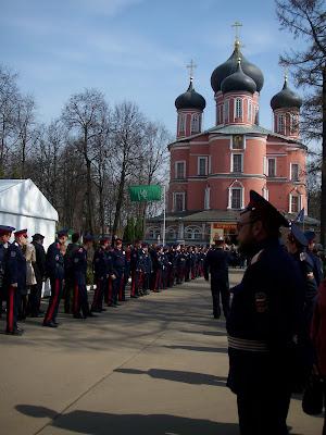 Svetlana Catches Patriarch Kirill On Film!