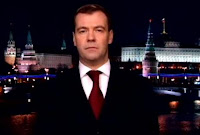 Russian President Dmitry Medvedev New Year 2010 Speech!