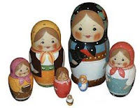 The First Russian Matreshka