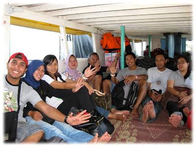 Pulau Tidung nyookk...!!! Public+Boat