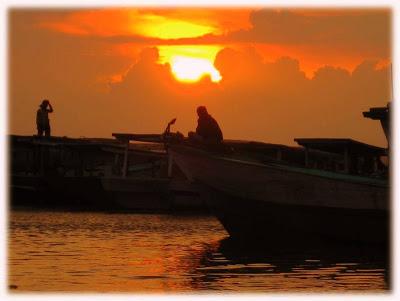 Pulau Tidung nyookk...!!! Sunset2