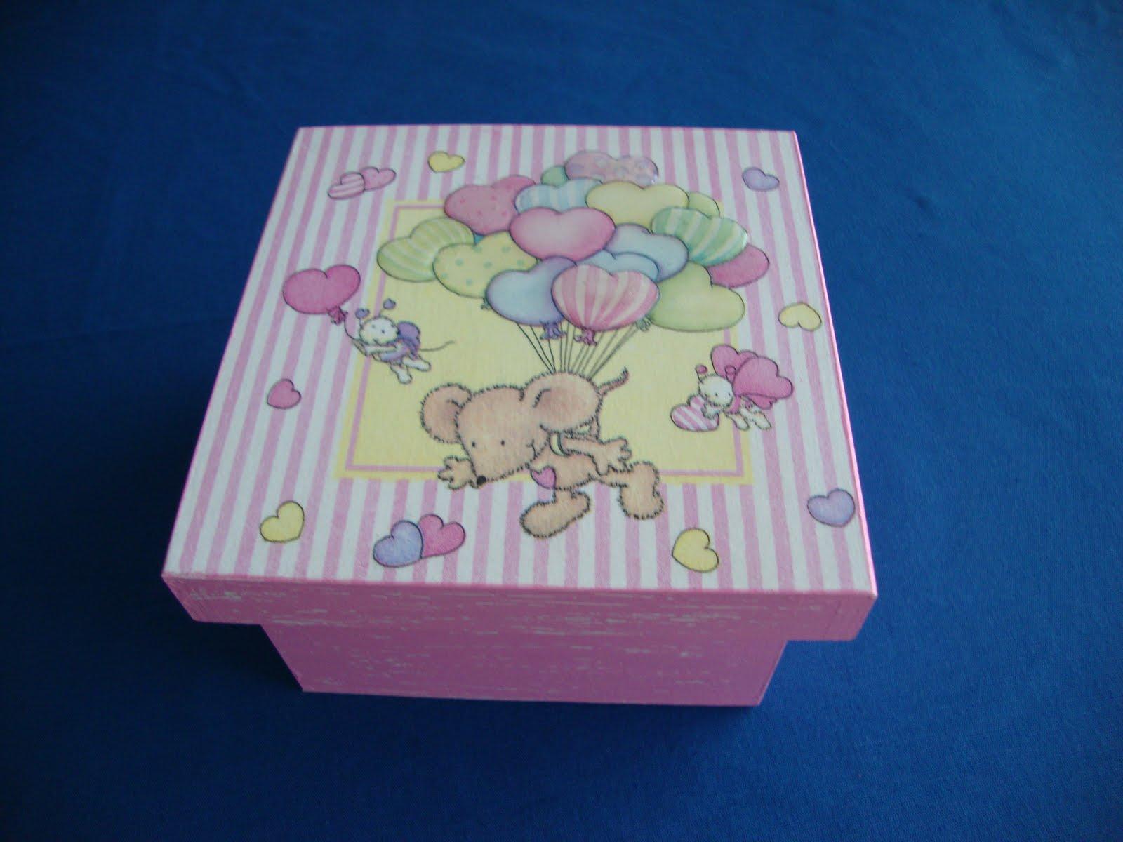 Tintas & Guardanapos: Caixas de madeira para bebés #04193C 1600x1200