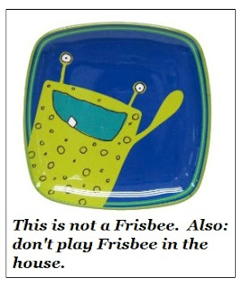 frisbeeplate Mommys On Time Out