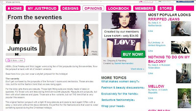 Divine World of Fashion u Justproud magazinu (ponovo!)