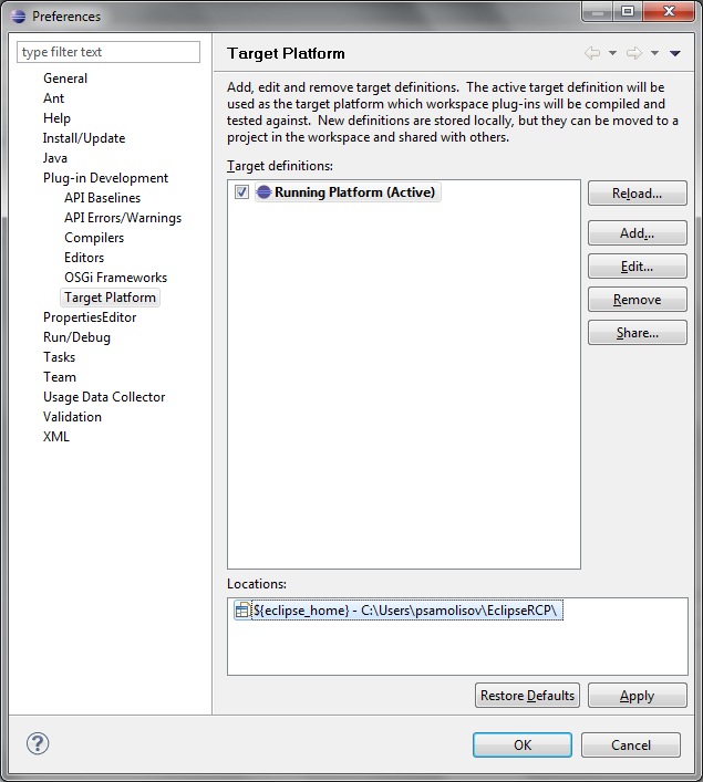 Create a target platform where you can install the birt and whatever you need to build your rcp product against