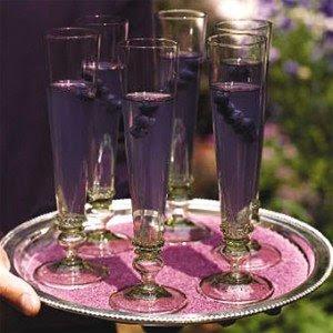 champagne purple