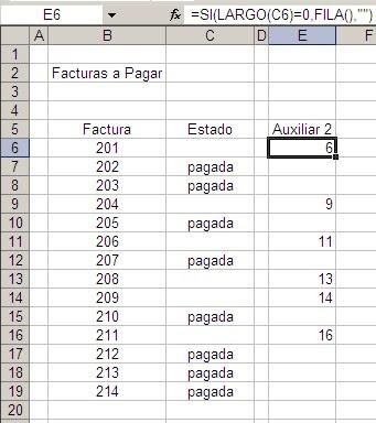 lista desplegable Excel