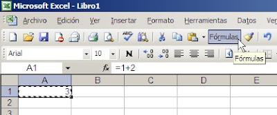 Excel pegar fórmulas