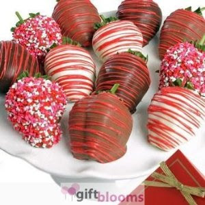 Valentines Day Ultimate Love Chocolate Covered Strawberries