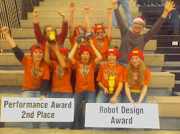 Mobotics Team Wins Best Robot Deign and 2nd Most Points Awards w/ 380 out of 400 points!