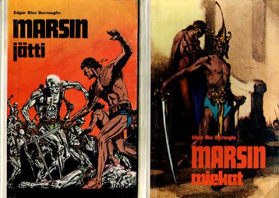 Edgar Rice Burroughs (Marsin jätti, Marsin miekat)