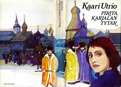 Kaari Utrio: Pirita, Karjalan tytär -kansikuva