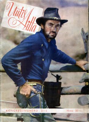 Uutisaitta 3-4/1949 Kannessa Gregory Peck