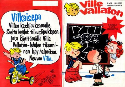 Ville Vallaton -sarjakuvalehti