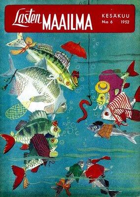 Lasten Maailma -lehti 6/1952