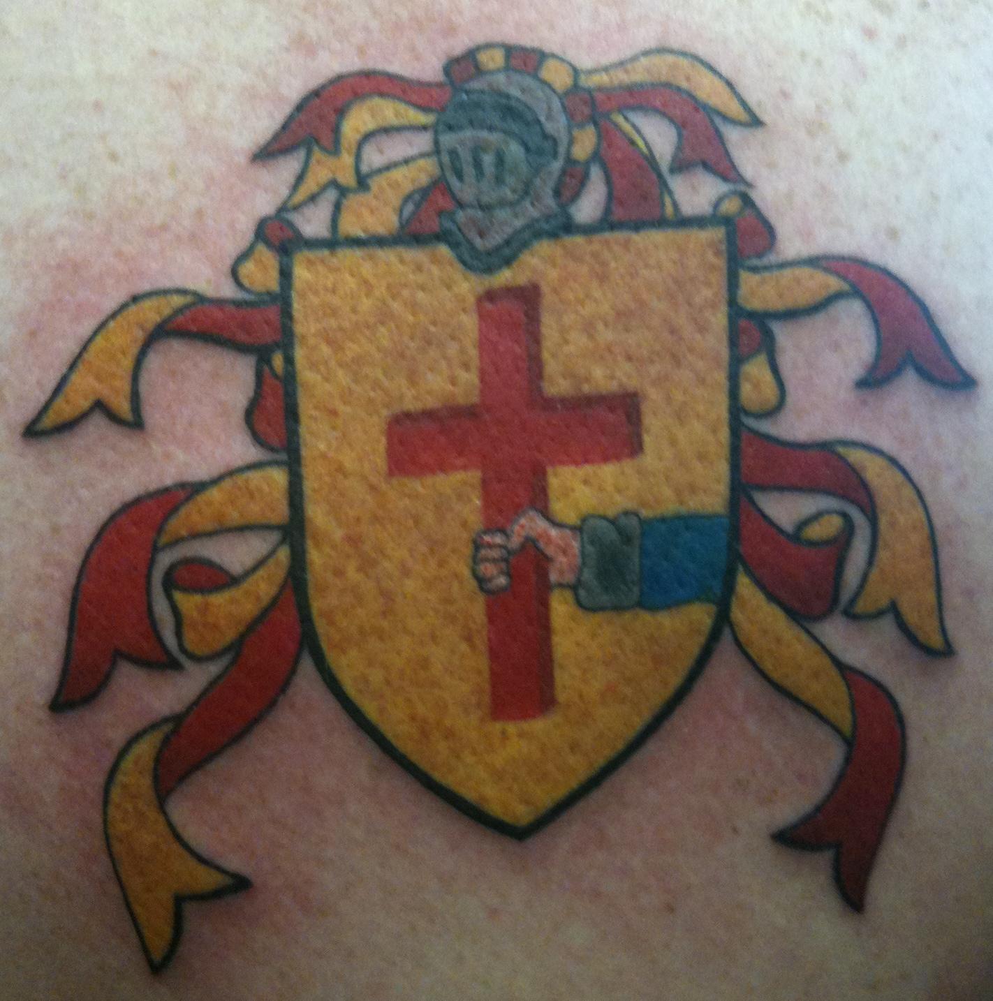 Body tattoos october 2010 for Jay crockett tattoo