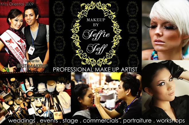 Jeffie Jeff Professional Hairdo & Make up Artist Malaysia