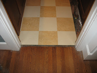 1916 portland bungalow marmoleum installation part 1 for Focal point flooring