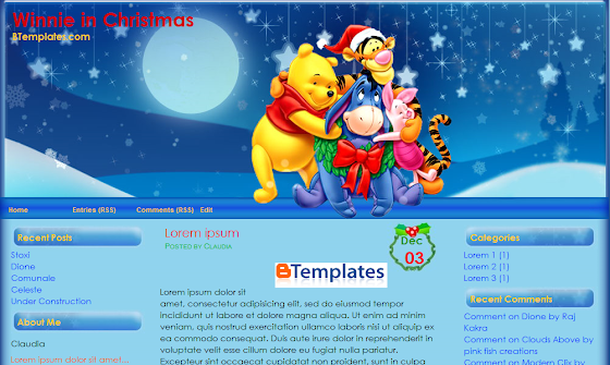 Winnie Christmas