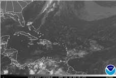 Vea la imagen satelital de Venezuela en tiempo real(Se actualiza cada 30 min)