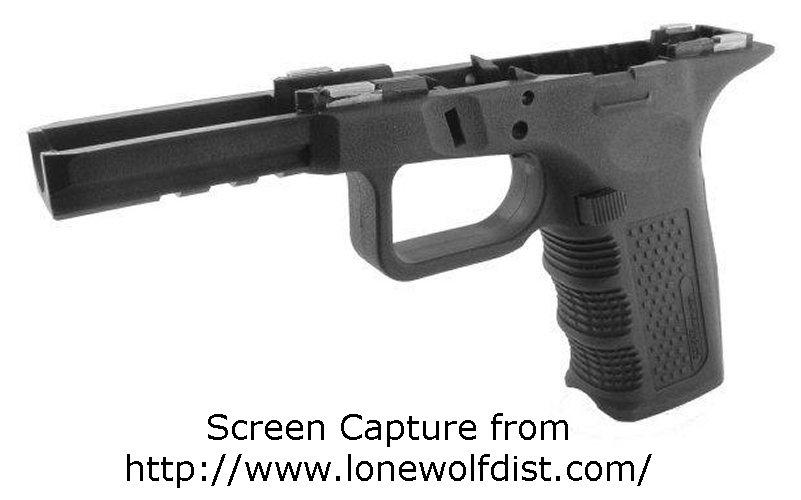 Suburban\'s Domain: Lone Wolf Glock Frame Available. . . Finally