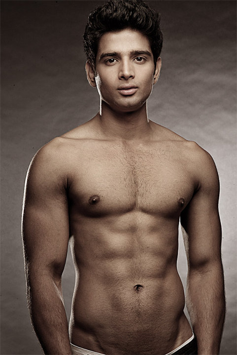 Shirtless Bollywood Men Fun Picture