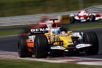Alonso de vuelta en renault 2008