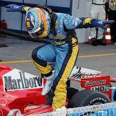 Alonso campeon del mundo 2006
