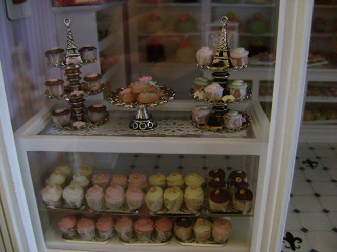 Favorite Window in My Miniature Patisserie