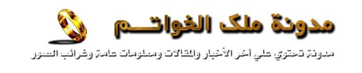 مدونة ملك الخواتم