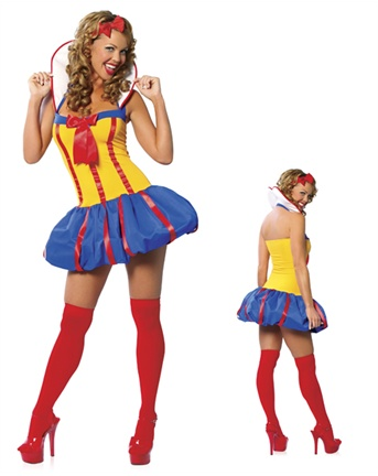 Adult Sexy Pin Up Girl Costume