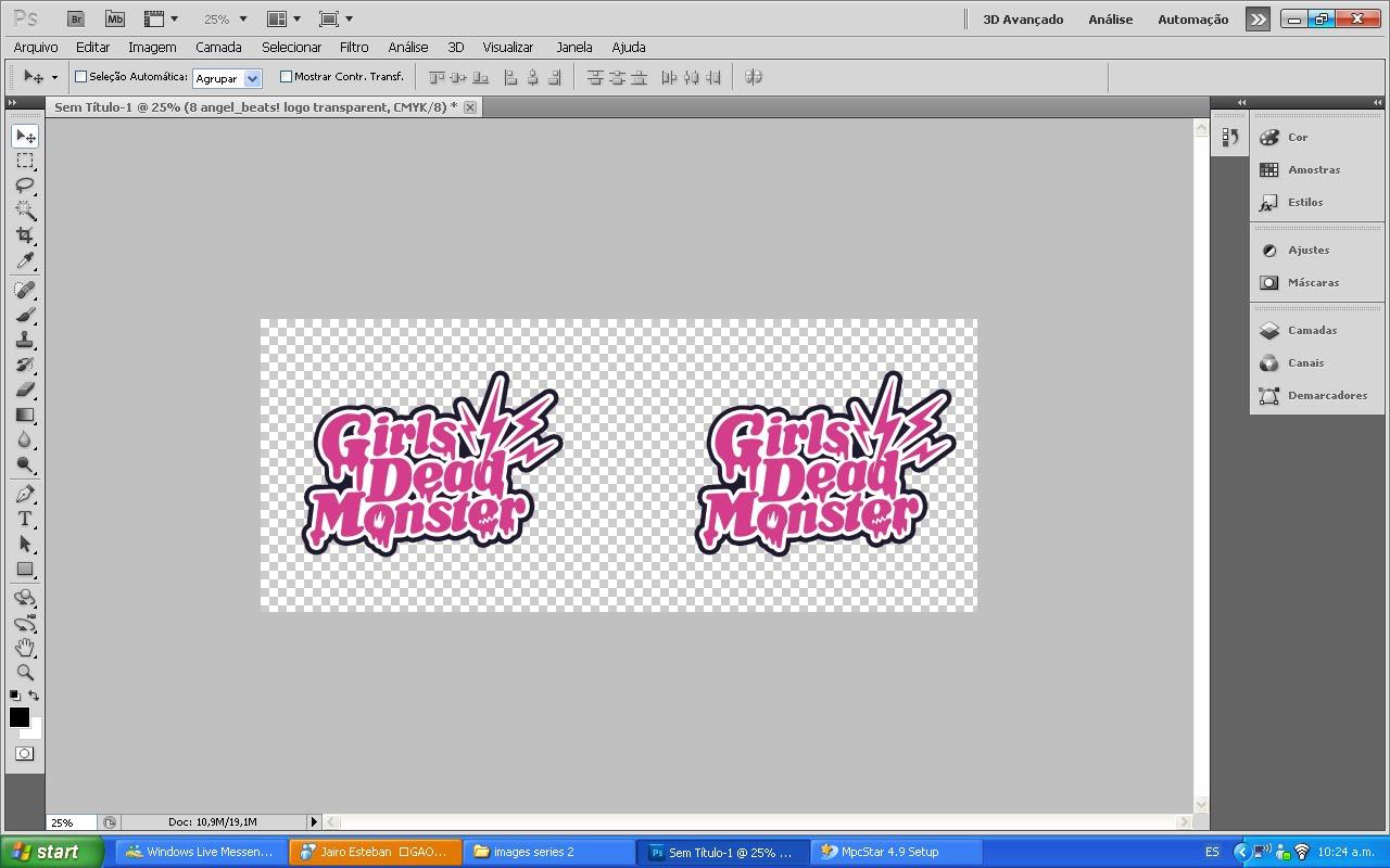 hacer un logo con photoshop: