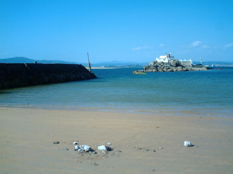 Playa de los Bikinis y Escuela de Vela