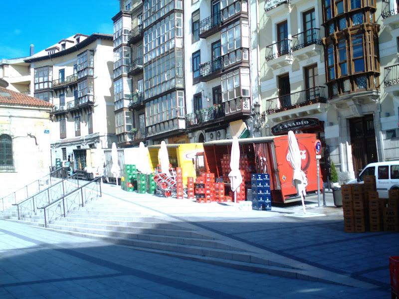 Plaza de Cañadío en Santander