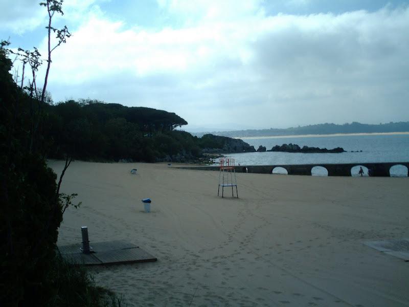 playa de los Bikinis en Santander